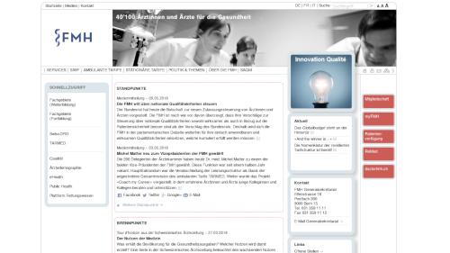 Verbindung der Schweizer Ärztinnen und Ärzte